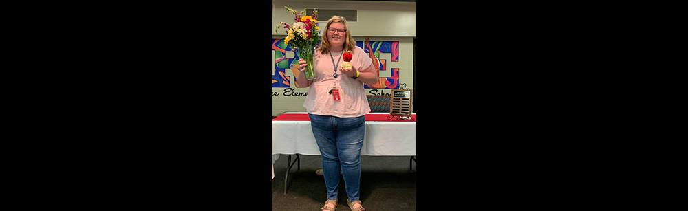 2020 - 2021 Trice Elementary  Campus Teacher of the Year!