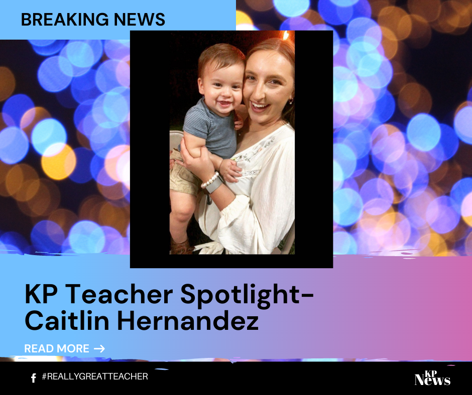 Teacher Spotlight - Caitlin Hernandez!