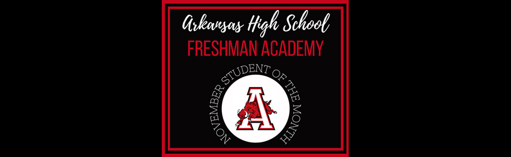 Freshman Students of Month - November
