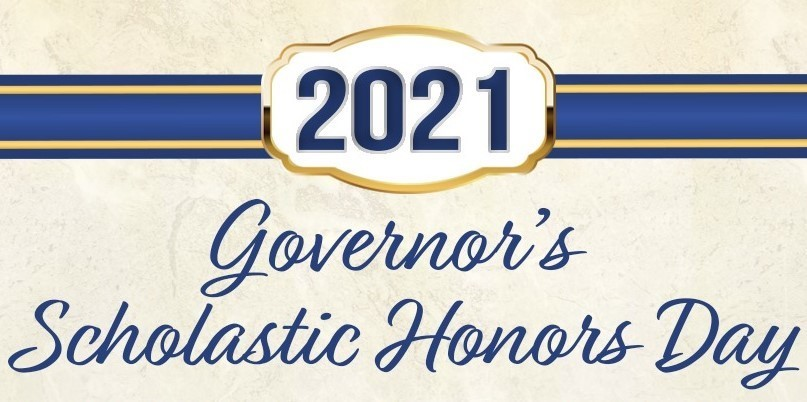 2021 Governor's Scholastic Honors Day