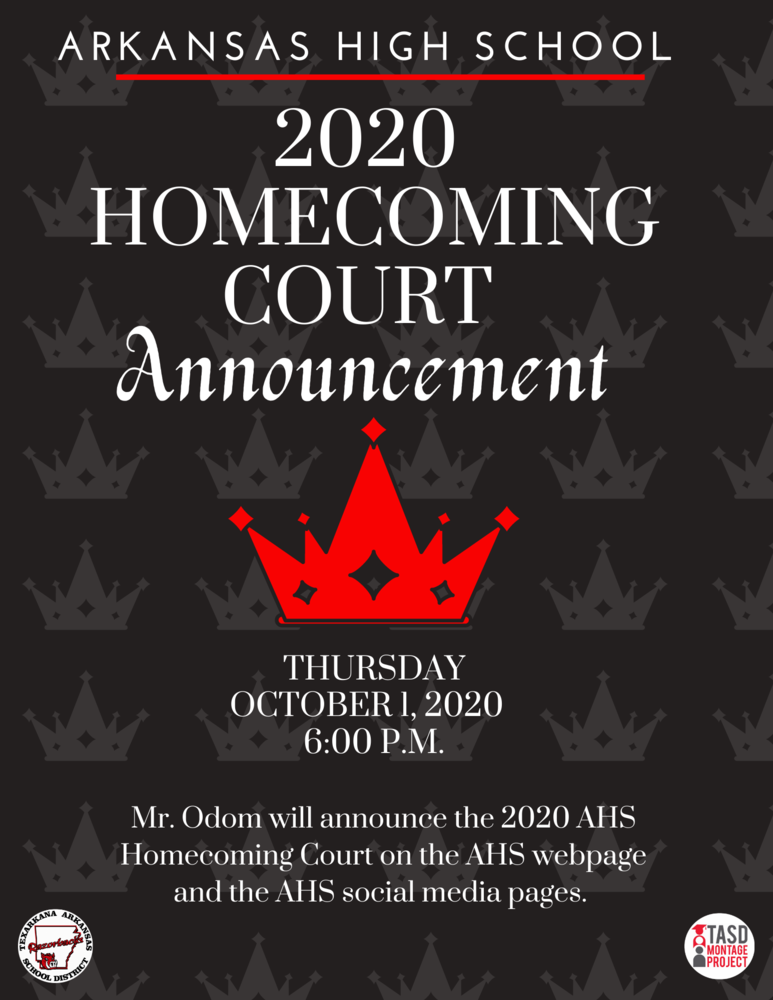 6:00 p.m. Homecoming Announcement Video
