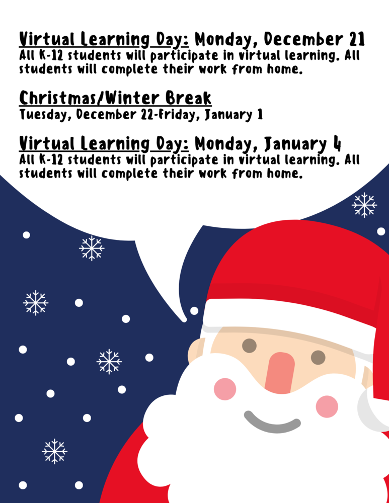 Winter Break/Virtual Learning Days