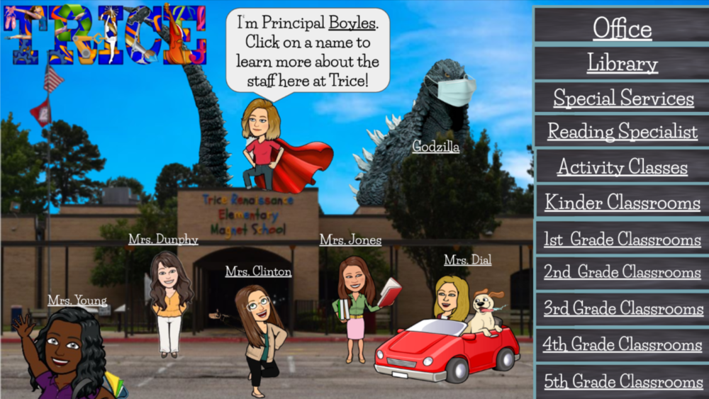 Trice Virtual Meet The Teacher