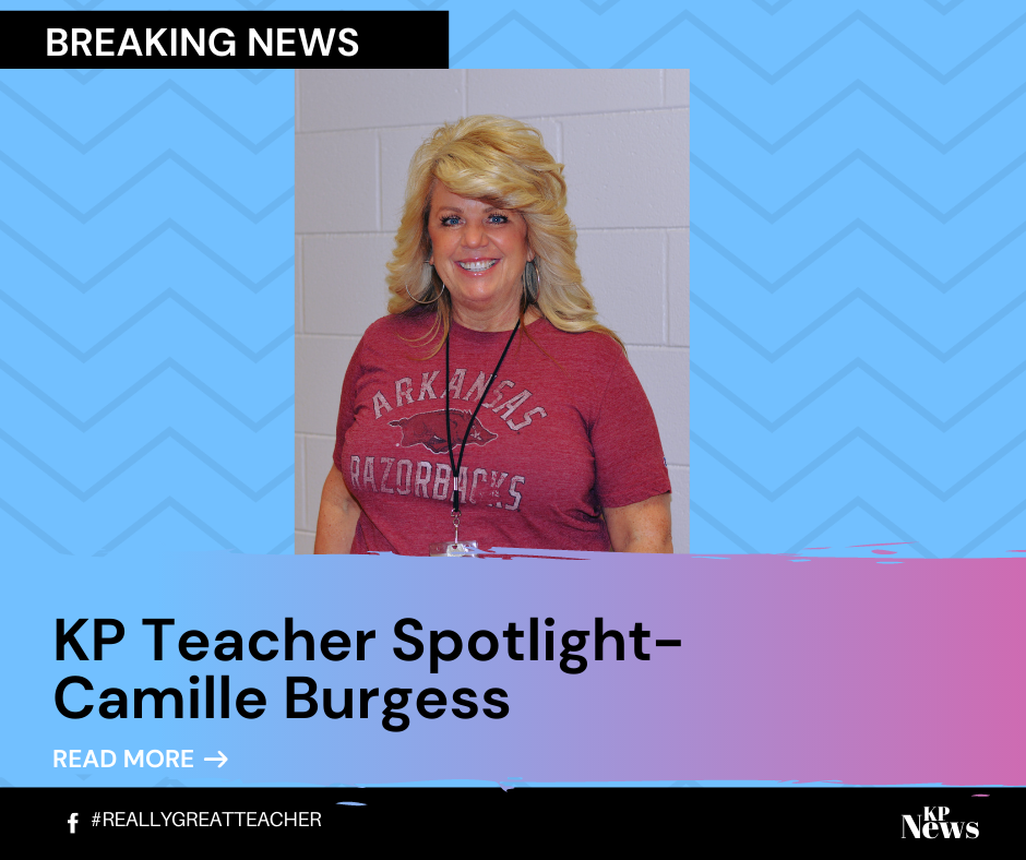 Teacher Spotlight! Camille Burgess!