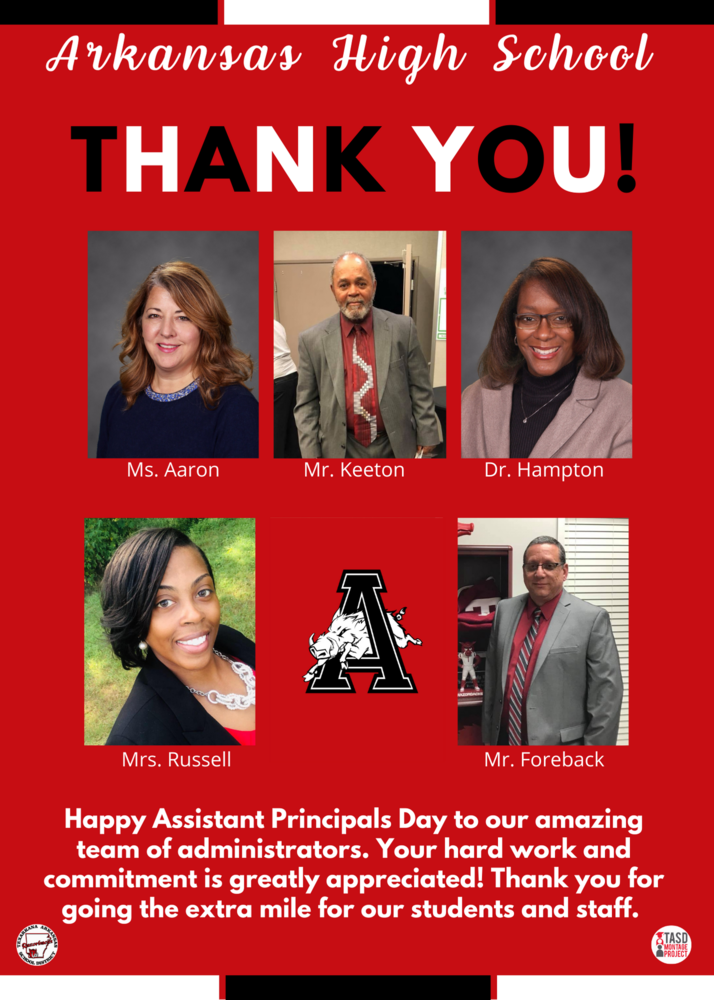 Arkansas High Assistant Principals
