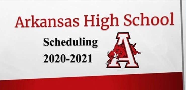 Arkansas High School Scheduling 2020-2021