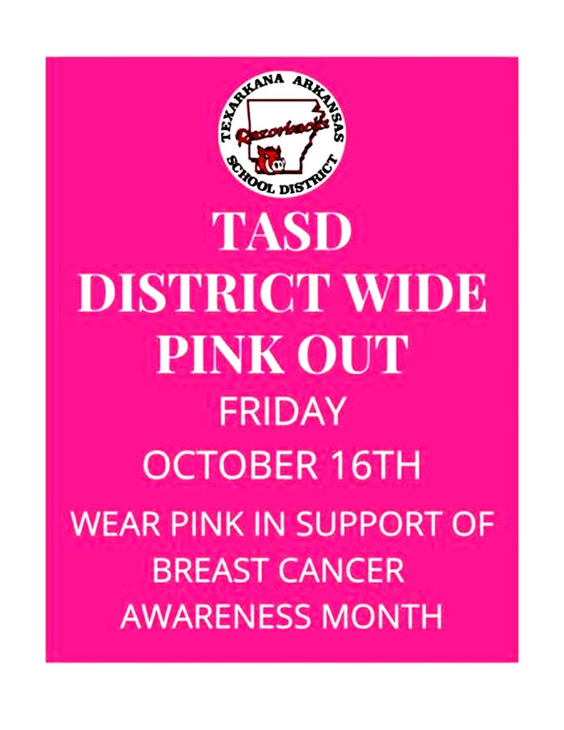 Pink Out Friday, October 16th
