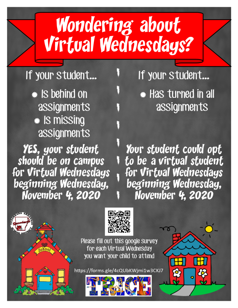 virtual wednesday flyer