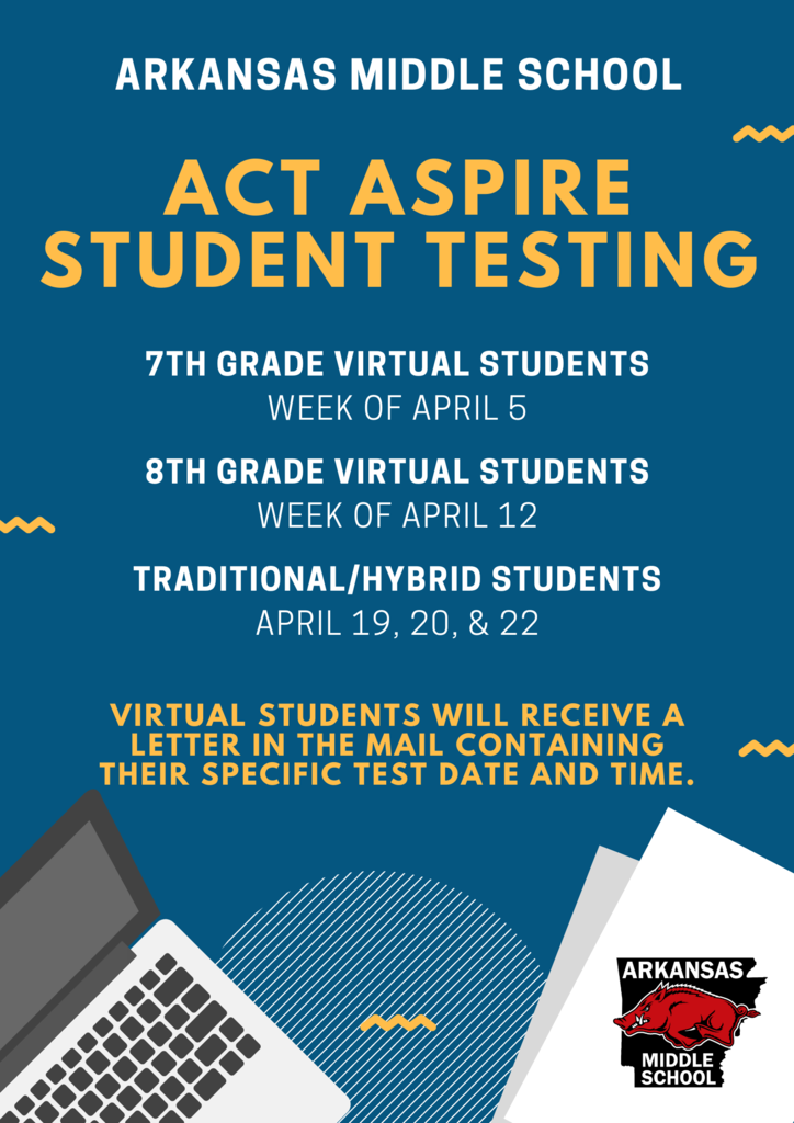 ACT Aspire Student Testing