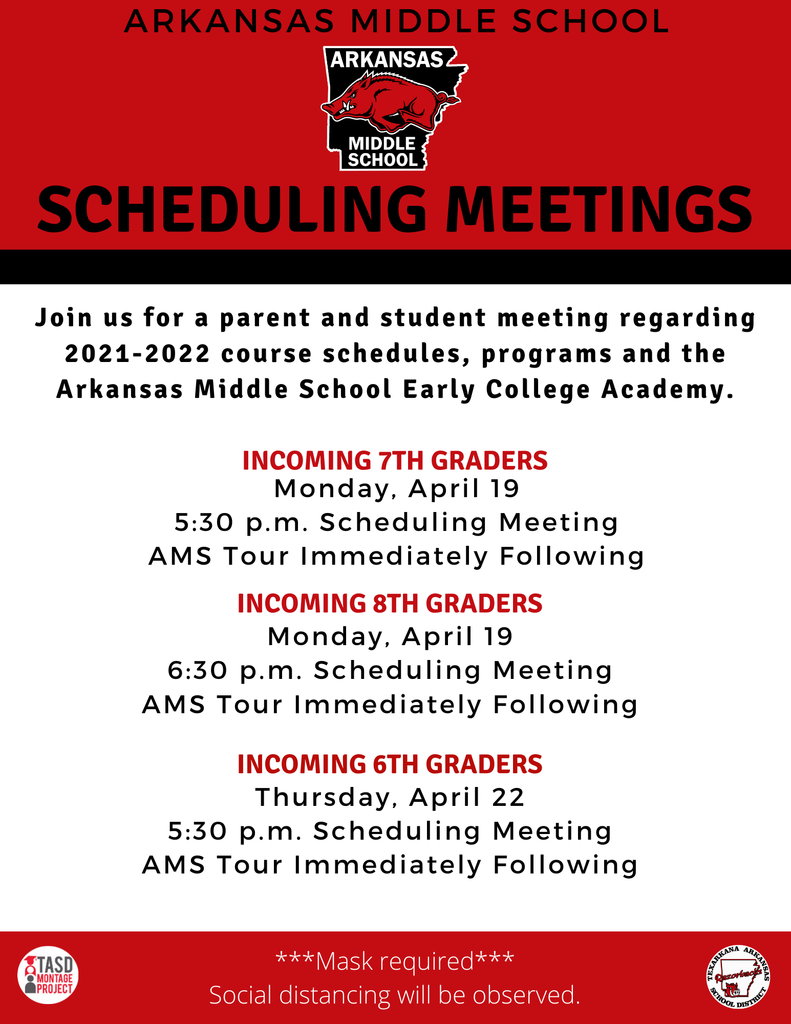 AMS scheduling meeting