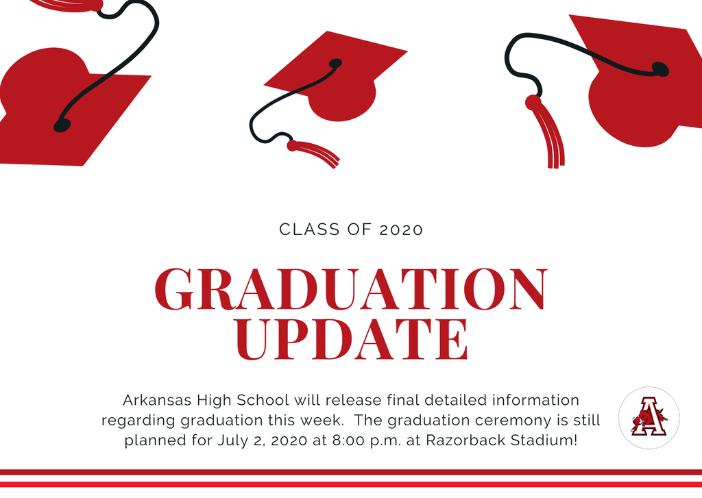 Arkansas High School Graduation